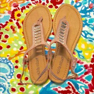 079176c07cd Olivia Miller Shoes - Rhinestone Sandals size 6